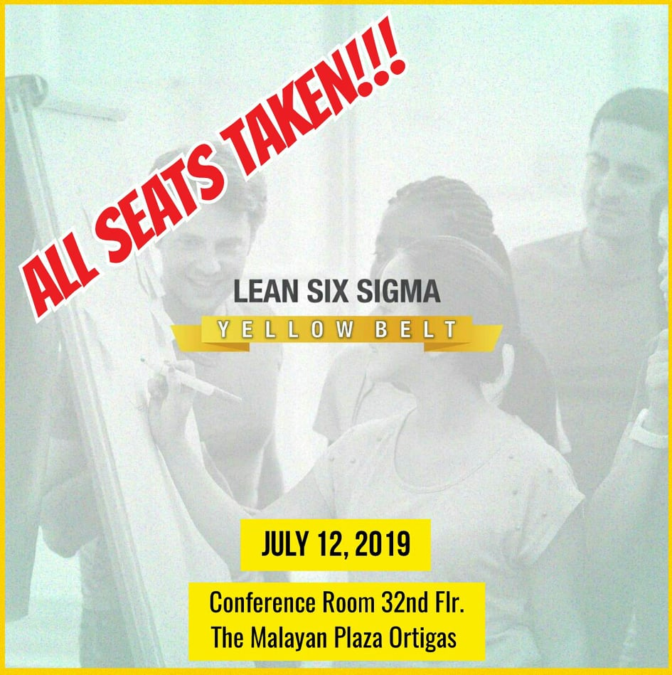 Lean Six Sigma Yellow Belt | July 2019 - Whitehall Consulting